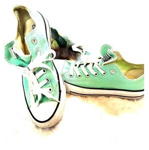 Converse All Star Mint Green Sneakers